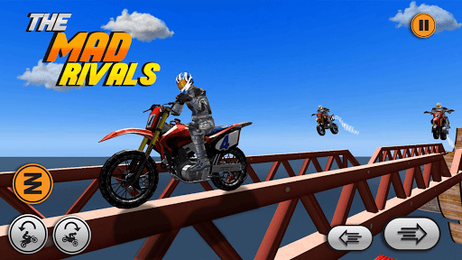 Xtreme trail: 3D Racing - Offline Dirt Bike Stunts android2mod screenshots 5