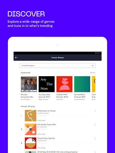 Mixcloud - Radio & DJ mixes android2mod screenshots 9