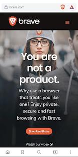 Brave Browser (Nightly) 1.31.44 Screenshots 1