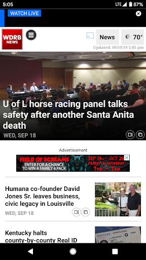 wdrb news screenshot 2