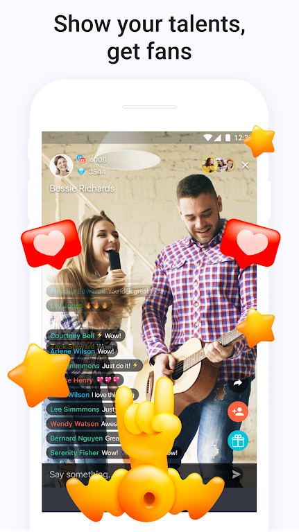 Tango - Go Live Stream & Broadcast Live Video Chat poster 0