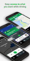 screenshot of Android Auto - Google Maps, Media & Messaging