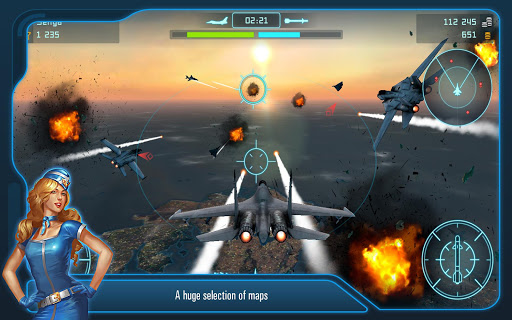 Battle of Warplanes: Aircraft combat, online game  screenshots 6