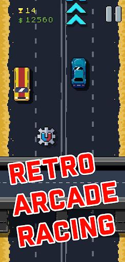 8Bit Highway: Retro Arcade Endless Racing  screenshots 1