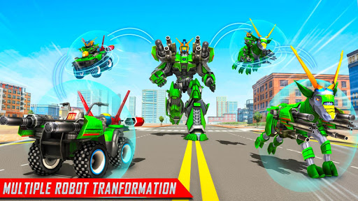 Goat Robot Transforming Games: ATV Bike Robot Game screenshots 13