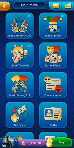 Durak LiveGames - free online card game  screenshots 1