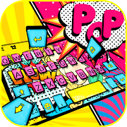 Pop Style Lady Keyboard Theme