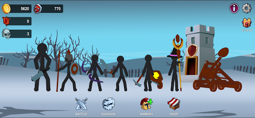 Stickman War  screenshots 4