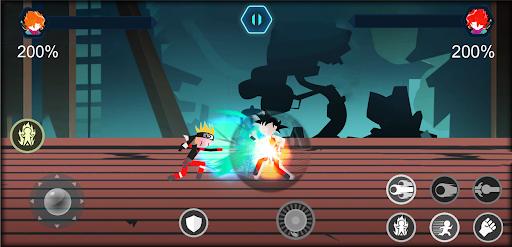 Télécharger Gratuit Stickman battle Shadow - warriors Dragon Legend APK MOD  (Astuce) screenshots 1