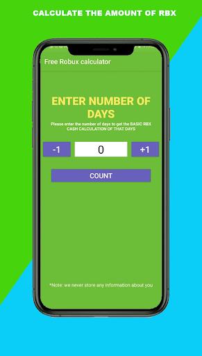 Robux Spin wheel: Free Robux Real & calc Quiz  Screenshots 4