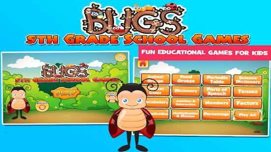 Bugs 5th Grade Learning Games 3.30 screenshots 1
