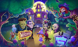 Monster Farm - Happy Ghost Village - Witch Mansion