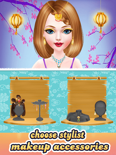 Chinese Doll Makeup Salon Spa  screenshots 11