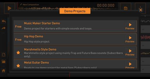 Song Maker - Free Music Mixer  Screenshots 5