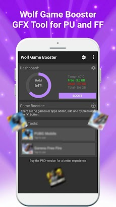 Wolf Game Booster & GFX Tool for PU and FFのおすすめ画像1