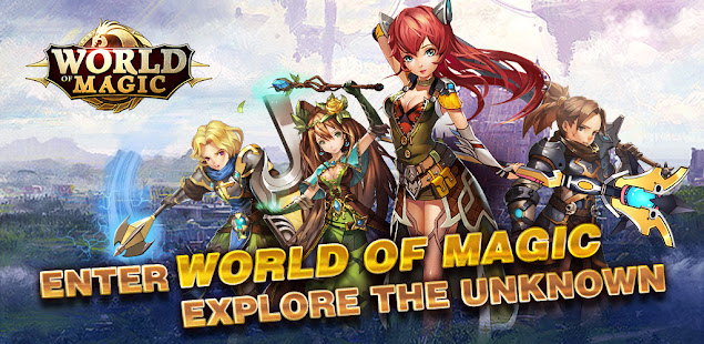 How to hack World of Magic for android free