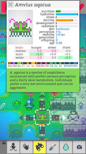 Code Triche Vilmonic - Évolution d'une Vie de Pixels APK MOD (Astuce) screenshots 6