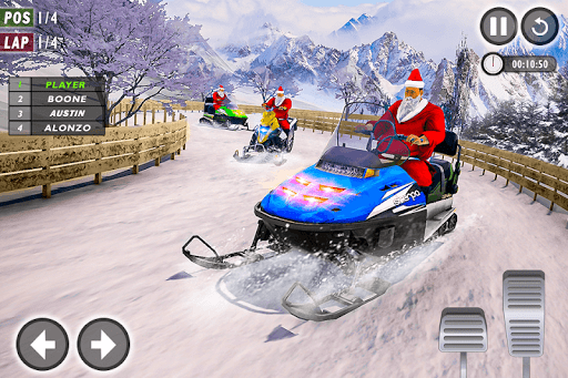 Santa Atv Snow Bike Racing 2020 : Quad Bike Race 1.1 Screenshots 15