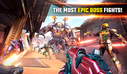 SHADOWGUN LEGENDS - FPS and PvP Multiplayer games apkpoly screenshots 21