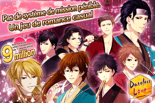Code Triche Dateless Love: Otome games français - jeux d'amour (Astuce) APK MOD screenshots 1