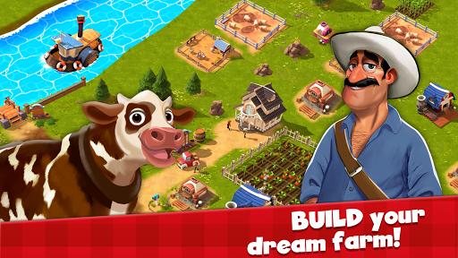 Happy Town Farm Games - Farming & City Building 1.4.0 Screenshots 4