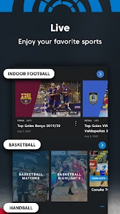 LaLiga Sports TV - Live Sports Streaming & Videos Screenshot