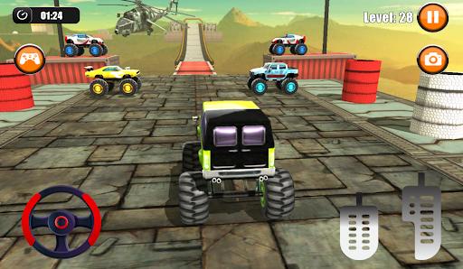 Ultimate Monster Truck: 3D Stunt Racing Simulator apkpoly screenshots 5