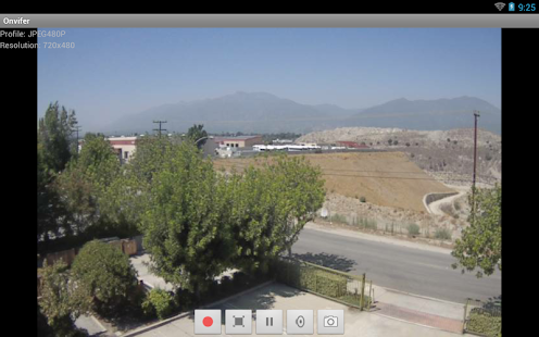 ONVIF IP Camera Monitor (Onvifer) Screenshot
