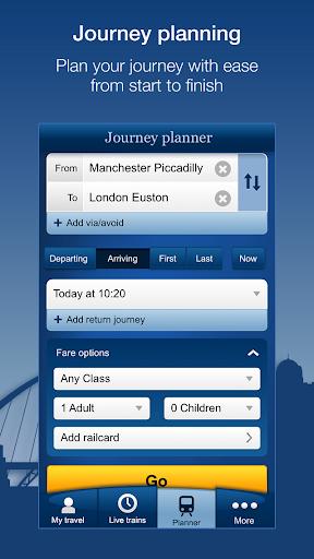 National Rail Enquiries 9.4.9 Screenshots 3