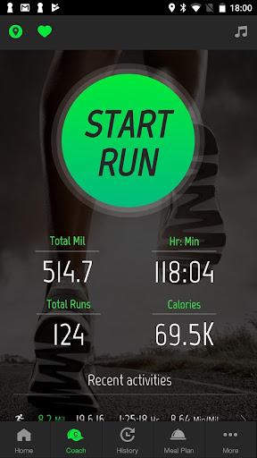 Running Distance Tracker + 2.0.1 Screenshots 1