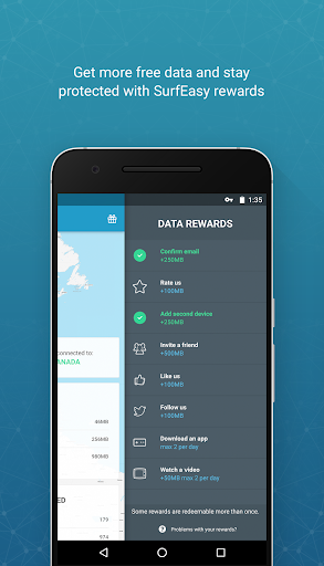 surfeasy secure android vpn screenshot 3