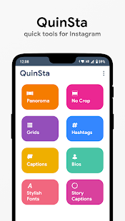 QuinSta : Quick Tools for Instagram Screenshot
