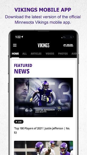 Minnesota Vikings Mobile android2mod screenshots 1