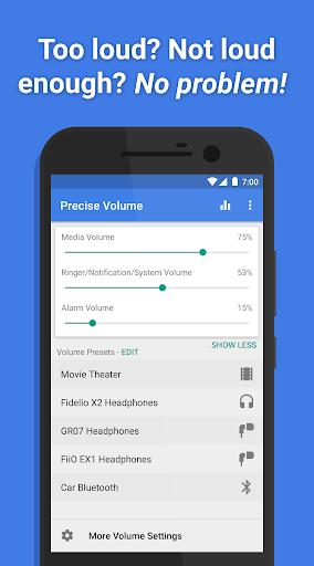 Precise Volume (+ EQ/Booster)  Screenshots 1