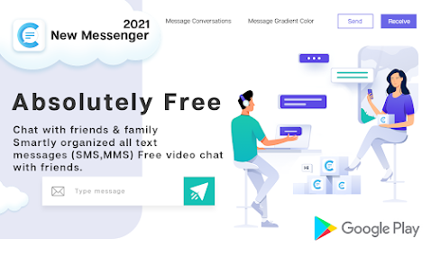 New Messenger 2021- Free Texting & Video Chat 1
