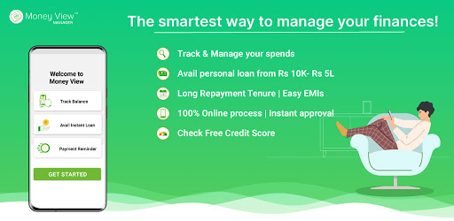 Money View Money Manager and Instant Personal Loan apktram screenshots 1