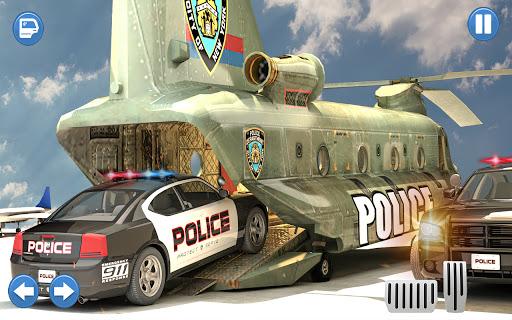 US Police Multi Level Car Transporter Truck 2021 apktram screenshots 6