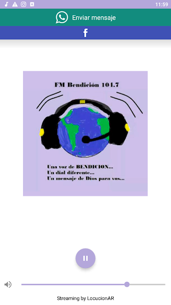 FM Bendición 104.7 screenshot 5
