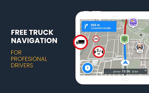 RoadLords - Free Truck GPS Navigation android2mod screenshots 8