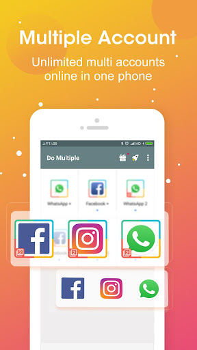 DO Multiple Accounts - Infinite Parallel Clone App 2.41.01.0210 Screenshots 1