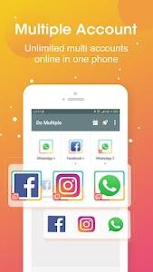 DO Multiple Accounts - Infinite Parallel Clone App 2.51.01.0702