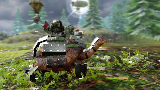 War Tortoise 2 - Idle Exploration Shooter screenshots 1