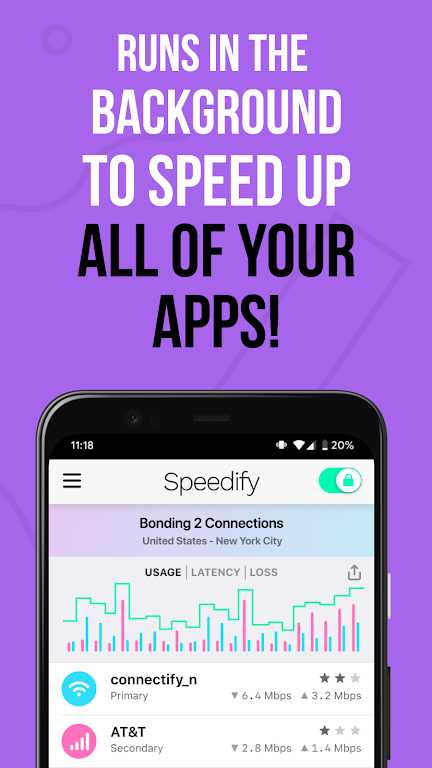 Speedify - Fast & Reliable VPN  poster 2