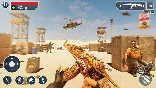 IGI Cover Fire Gun Strike: FPS Shooting Game Apkfinish screenshots 15