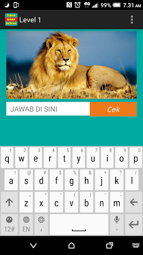 Tebak Nama Hewan  Screenshots 5