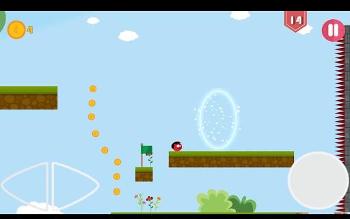 Super Red Jump Ball Mr Mustache 2.3 screenshots 18