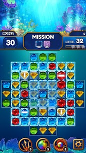 Under the Deep Sea: Jewel Match3 Puzzle 5