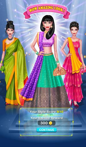 Wedding Fashion Stylist: Indian Dress up & Makeup 1.0 screenshots 10