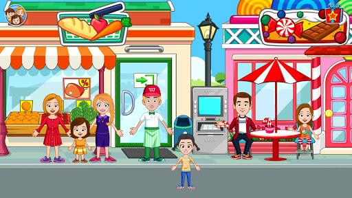 My Town: Stores - Doll house & Dress up Girls Game apktram screenshots 12