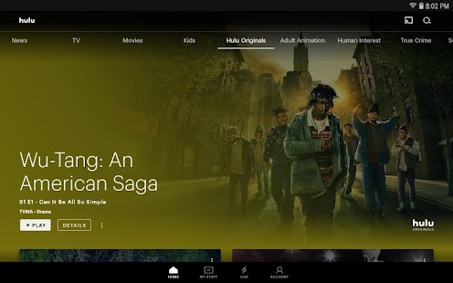 Hulu for Android TV Capture d'écran